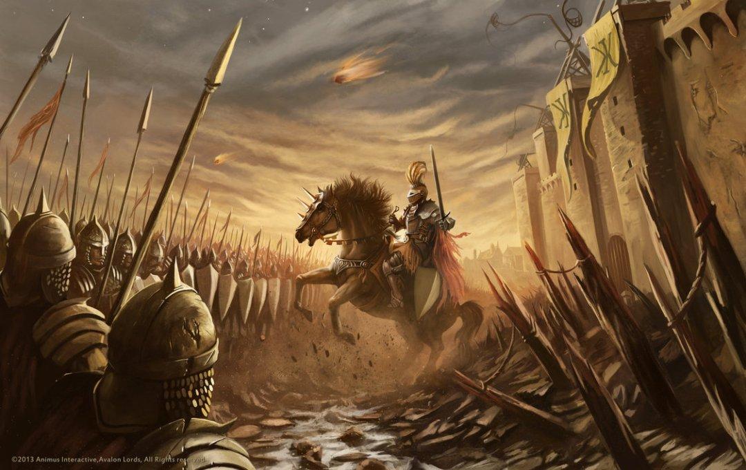 avalon_lords_battlefield_illustration_by_raymondminnaar-d6dq1t6